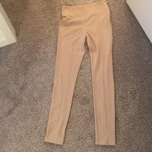 Forever 21 skinny stretch pant with zipper side